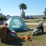 Camping pumpkins