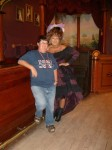 Me and Miss Kitty at the Longbranch Saloon