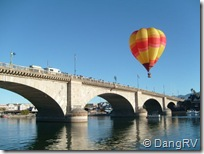 London Bridge balloon