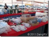 Cooking utensil vendor