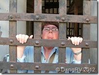 Unhappy Yuma Prison guest