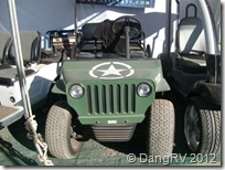 Army jeep golf cart