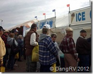Ice cream booth