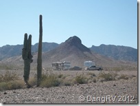 Quartzsite desert boondocking