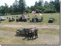 Military exhibits - Fort Stevens