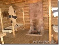 Bunking down in Fort Clatsop