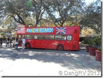 San Antonio double-decker bus
