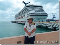 Carnival Triumph, Me, and George at Progresso