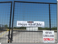 4th of July gate