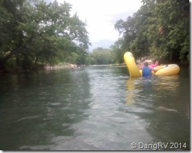 Lion's Club river tubing