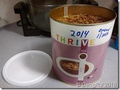Thrive beef TVP