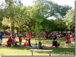 Landa Park picnics