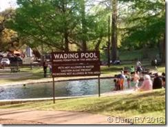 Landa Park Wading Pool