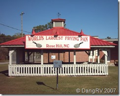 World's Largest Frying Pan, NC