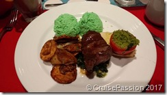 Green eggs and steak at Dr. Seuss breakfast