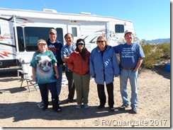 My Quartzsite Family