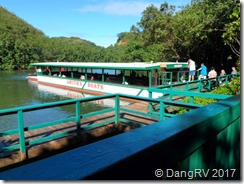 Wailua River tour boat