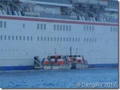 Lifeboat tenders off Kona, HI