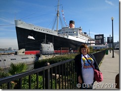 The Queen Mary floating hotel