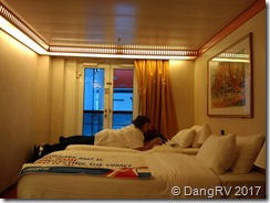 Carnival Miracle French door room