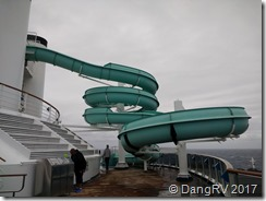 Carnival Miracle waterslide